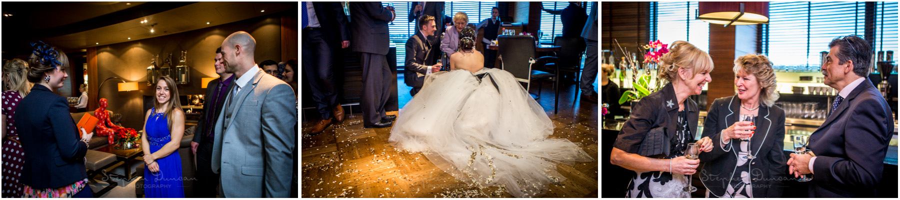 The Aviator wedding photography candid reception photos