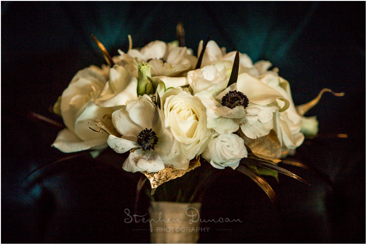 The Aviator wedding photography floral details