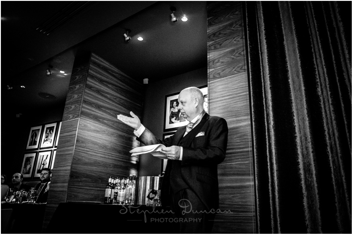 The Aviator wedding photography father of the bride speech