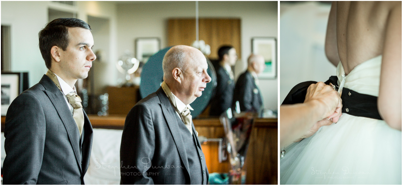The Aviator wedding photography father of the bride