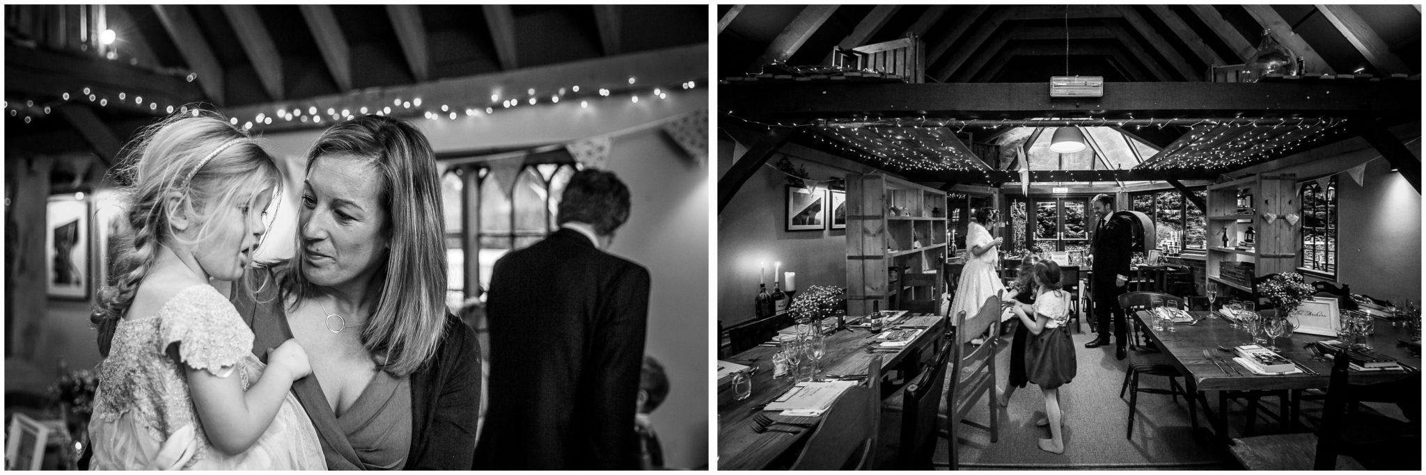 Castle Room Winchester wedding photography black and white reception photos