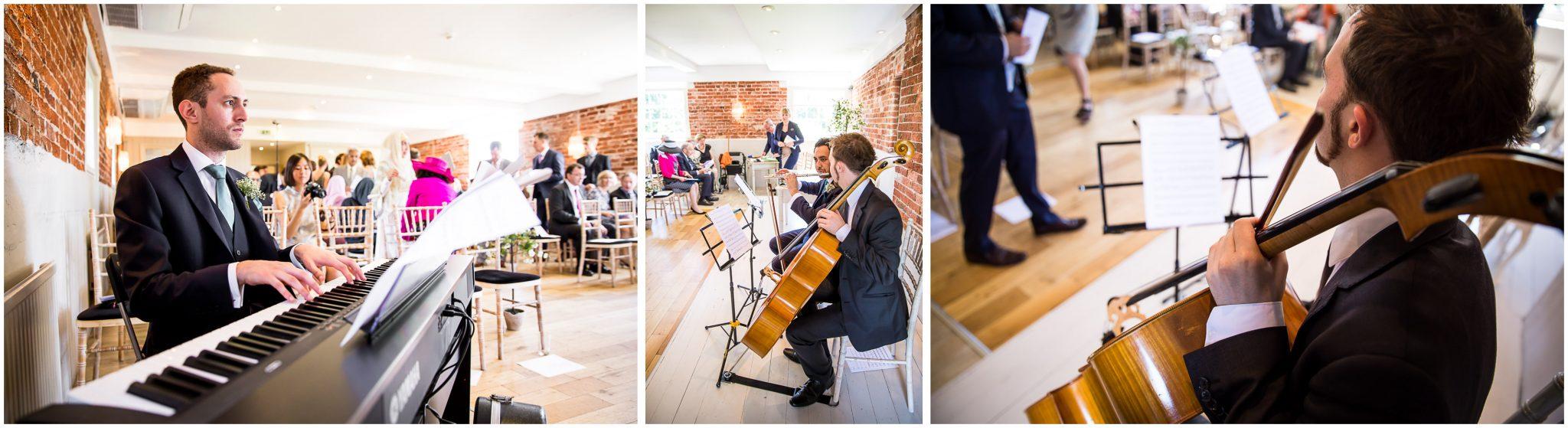 Sopley Mill Summer wedding ceremony music