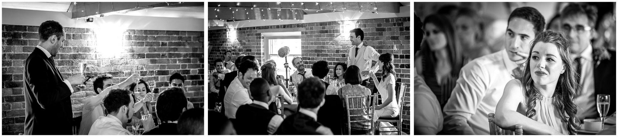 Sopley Mill Summer wedding best man's speech