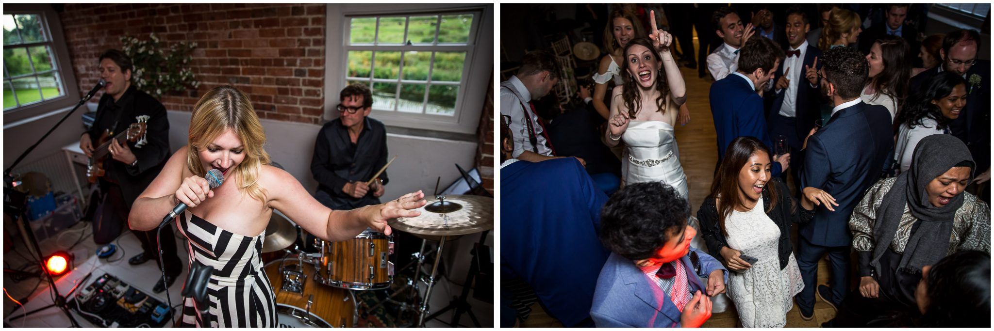 Sopley Mill Summer wedding party time