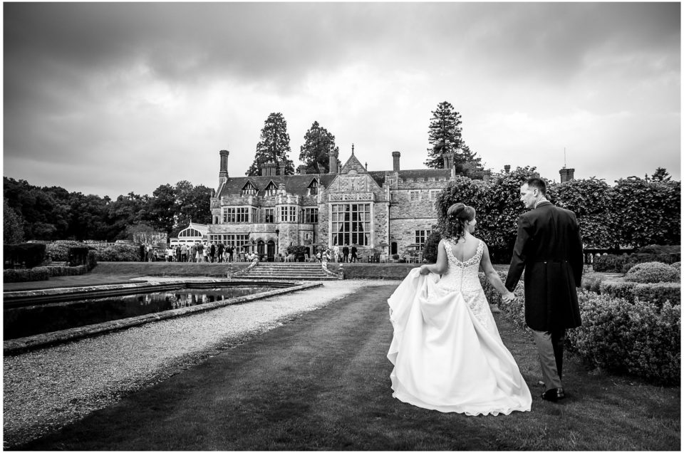 Barbara & Nathan at beautiful Rhinefield House in the New Forest