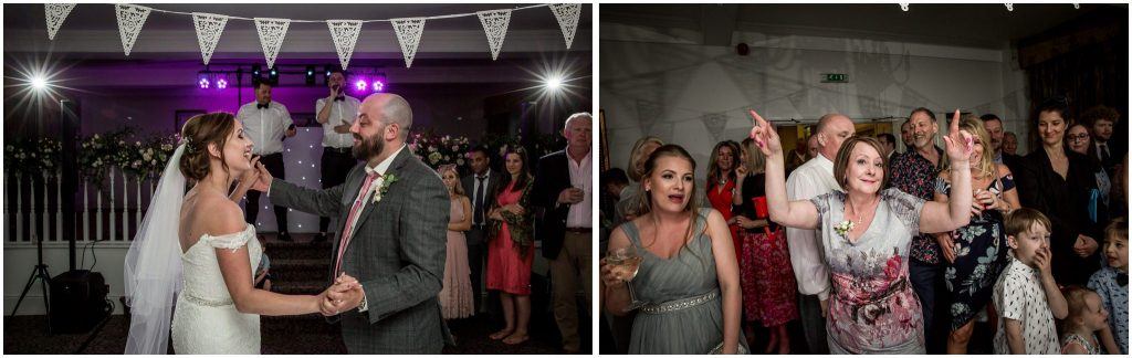 Guests on the dancefloor