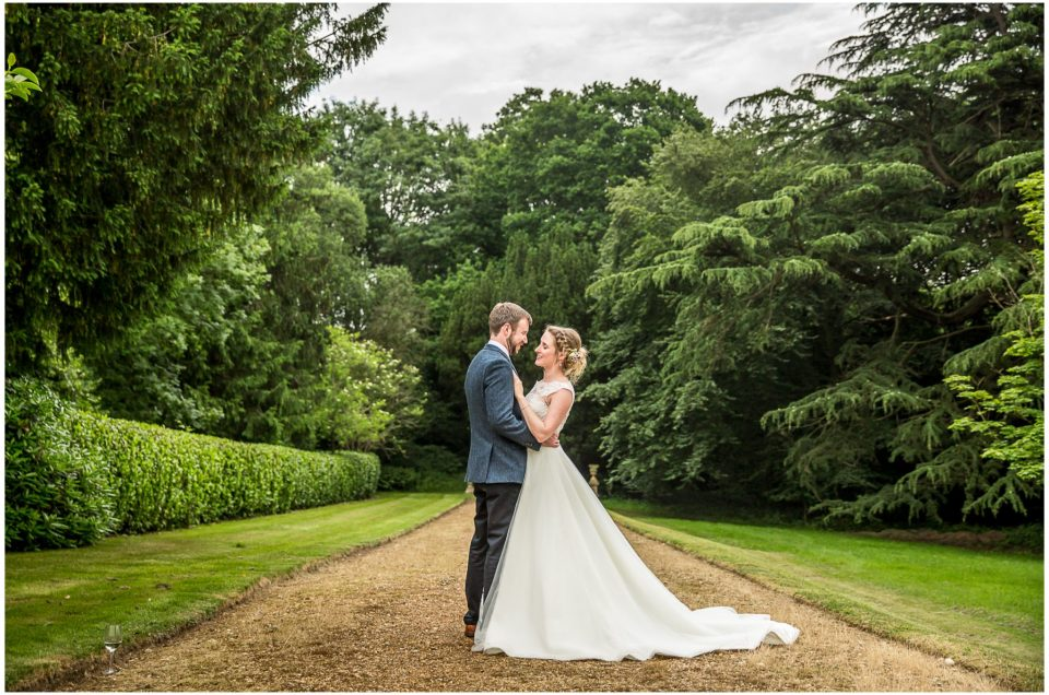 Jenny & Tom at hidden gem Rownhams House