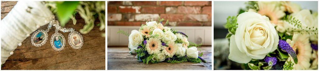 Bridal bouquet details