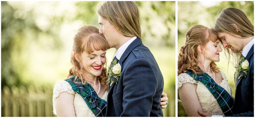 Intimate couple portraits in the afternoon light