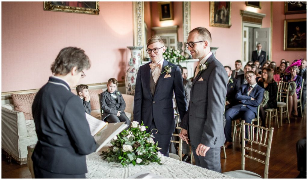 Same sex Winchester wedding - the couple are declared married