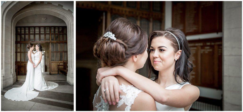 Bridal couple photographs