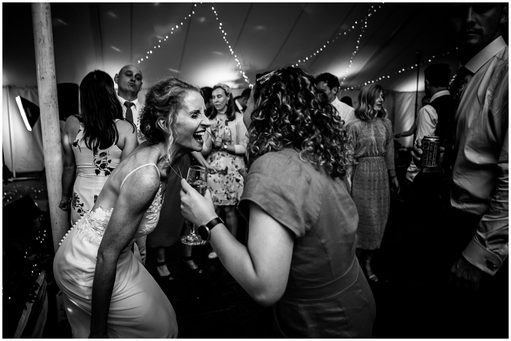 Bride on the dancefloor