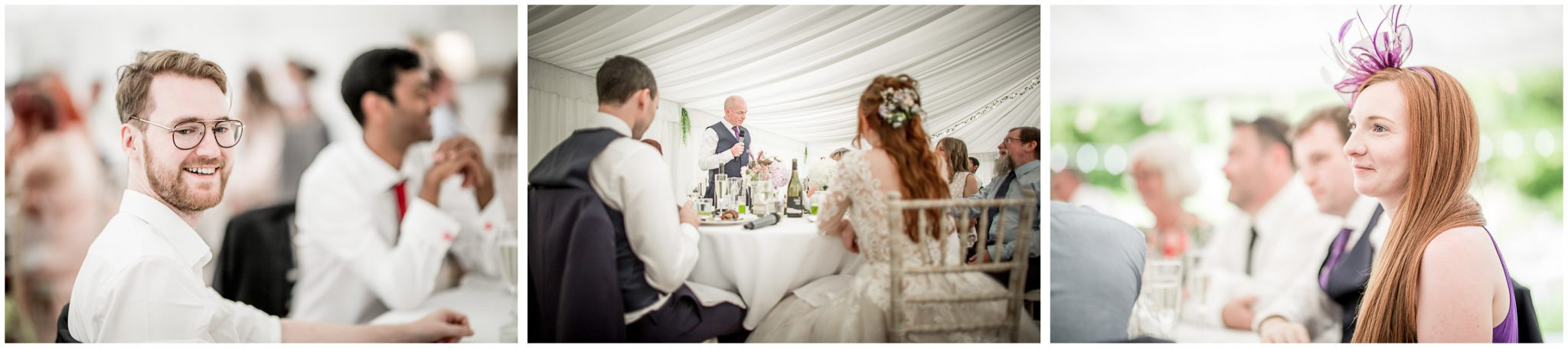 Father of the bride makes his speech