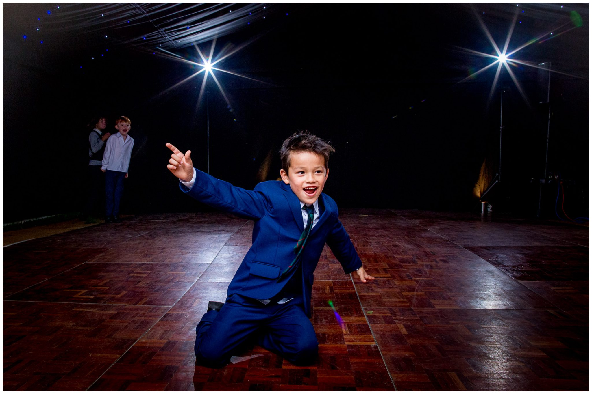 Kids and dancefloors