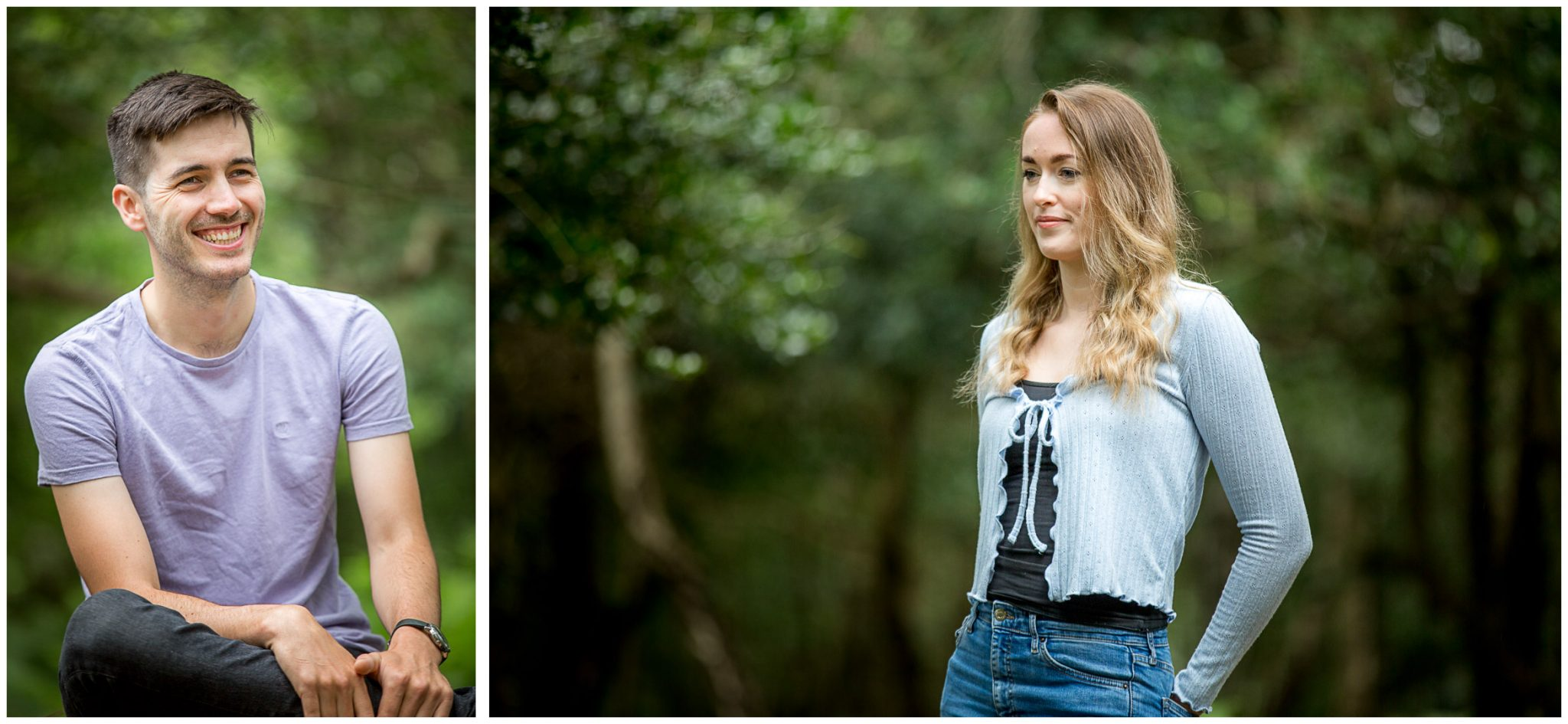 New Forest pre-wedding shoot 01