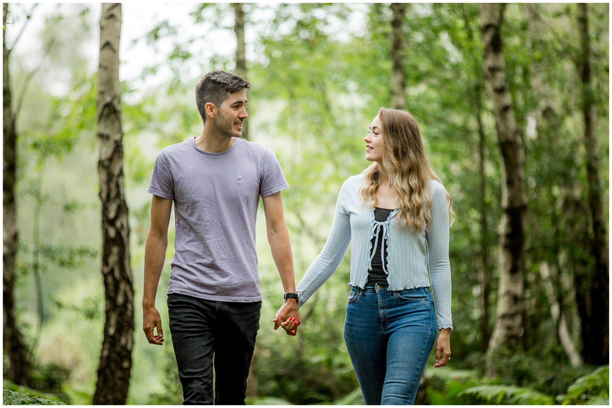 New Forest pre-wedding shoot 04